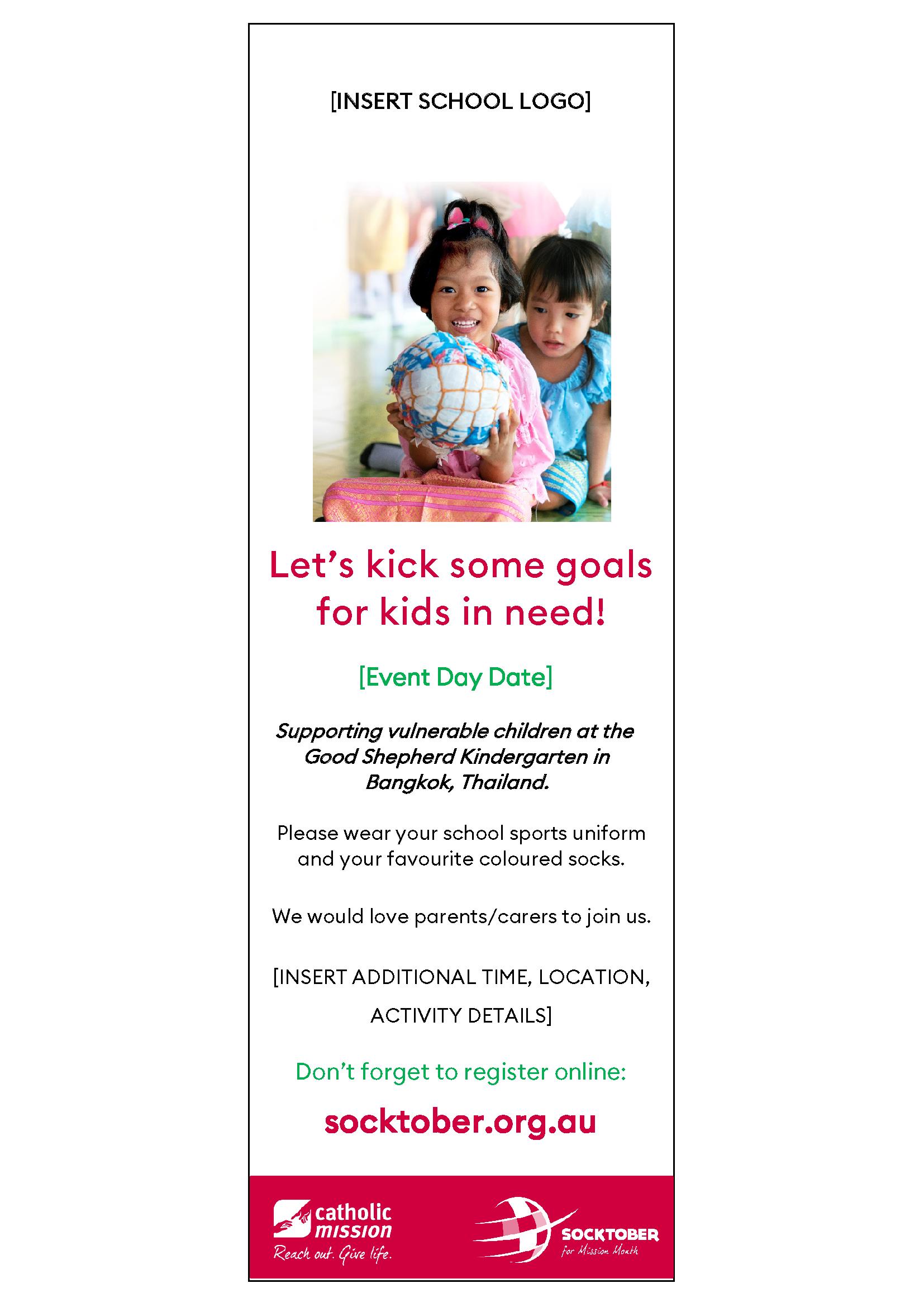 Socktober Event Day Flyer for Bulletins (PDF)