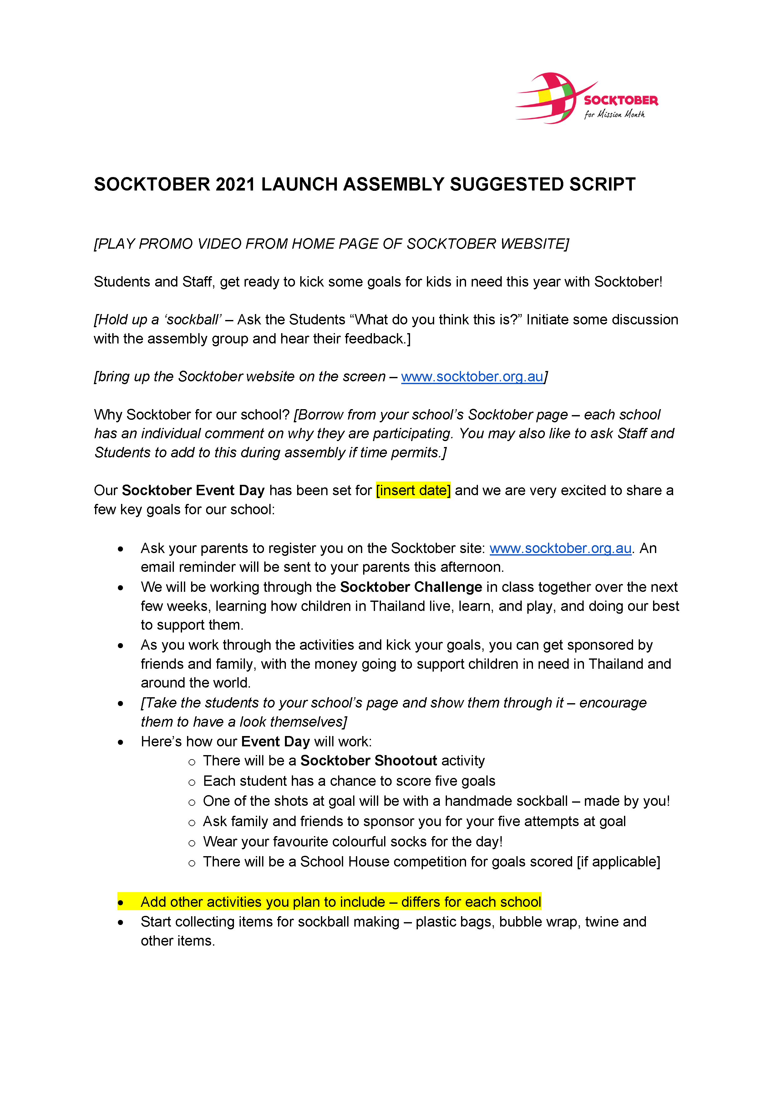 Launch Assembly Script