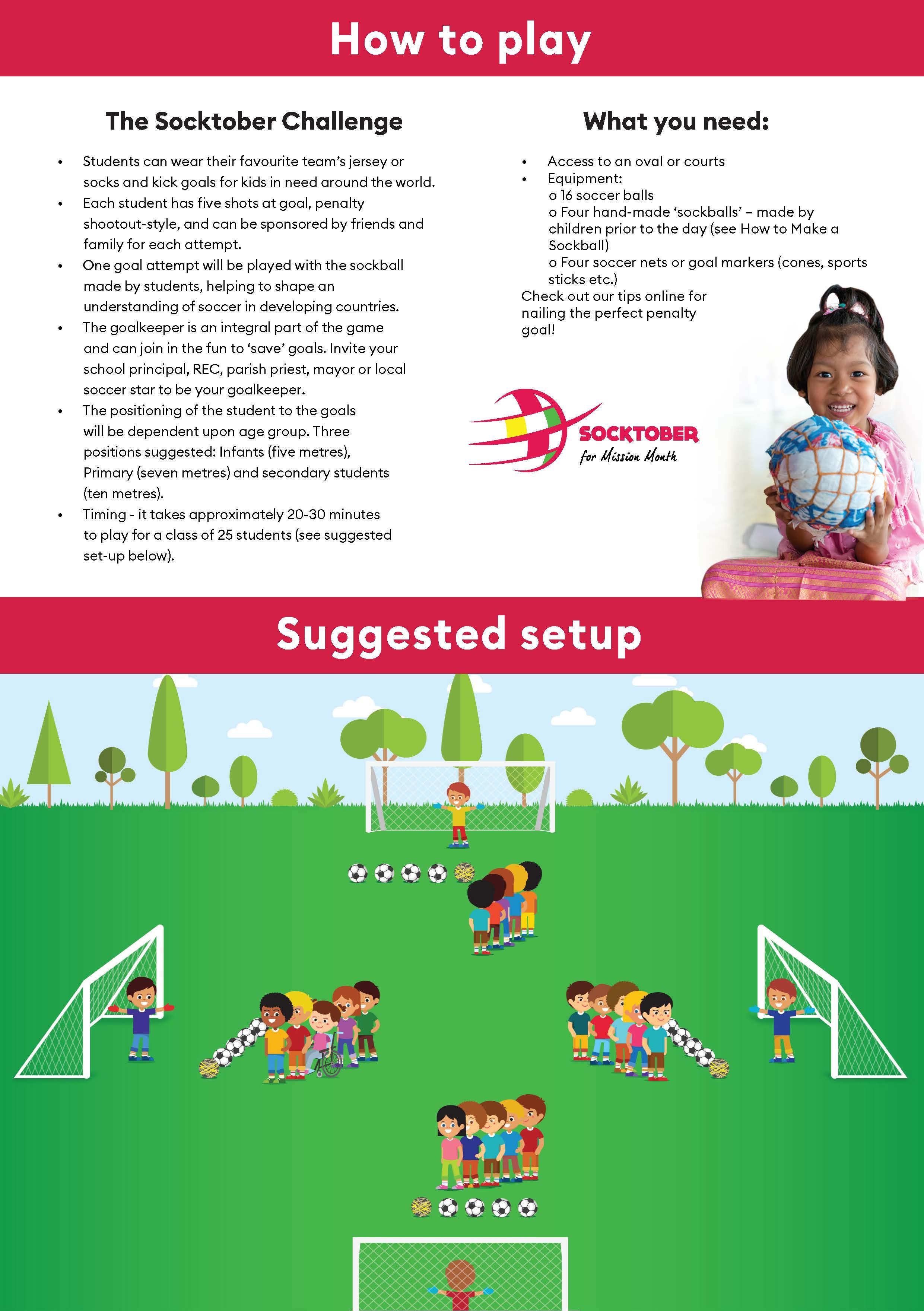 Socktober Shootout - How to Play